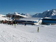 Rakousko, Stubai. Stanice Gamsgarten ve výši 2620 m