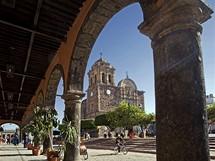 Mexiko. Městečko Tequila