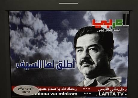 Na časy Saddáma Husajna někteří Iráčané vzpomínají s nostalgií. Pro ně nedávno začal vysílat Saddámova televize na satelitu