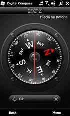 HTC HD2 - kompas