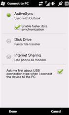 HTC HD2 - konektivita