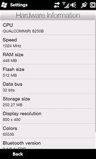 HTC HD2 - hardware