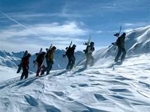 Rakousko, lyžařské centrum Albona