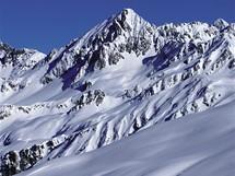 Lyžařské středisko Hochjoch nad městečkem Schruns