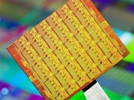 Křemíkový základ 48 jádrového čipu
