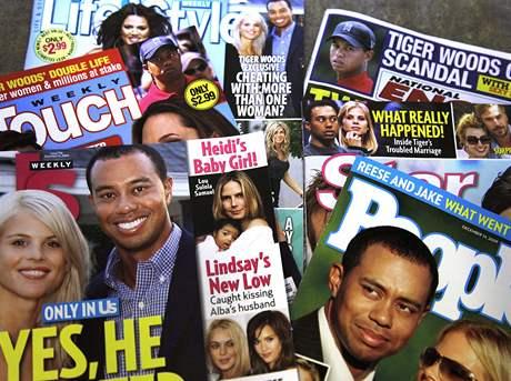 Privátní život Tigera Woodse v moci médií.