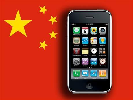 O iPhone není v Číně zájem