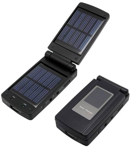 Solární nabíječka Fun Beat VS750 detail
