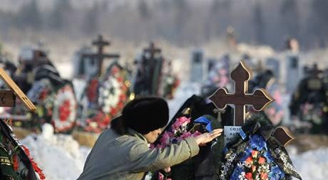 Pohřeb obětí v Permu
