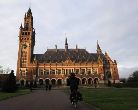 Budova Mezinárodního soudního dvora v Haagu