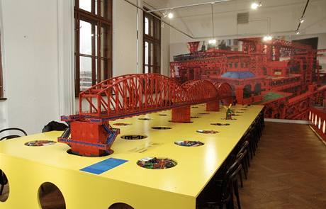 Výstava stavebnice Merkur