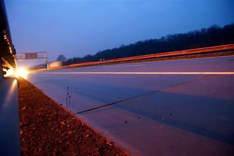 Konec dálnice D1 před Bohumínem