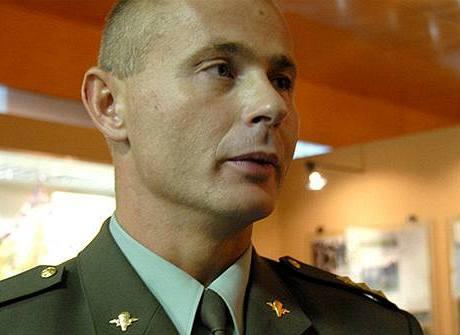 Generálporučík Ondrej Páleník, šéf Vojenského zpravodajství, pod které speciálové spadají.