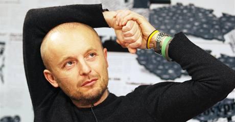 Tomáš Mašín při rozhovoru s Barborou Tachecí.
