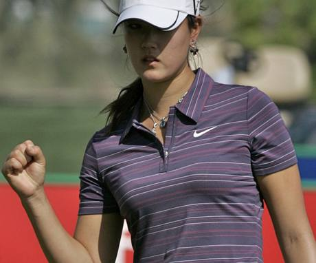 Dubai Ladies Masters 2009 - Michelle Wieová, 1. kolo.