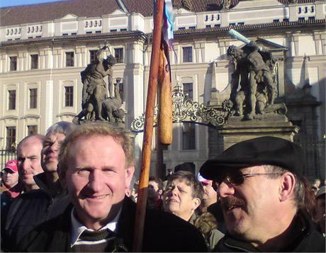 Protest zemědělců v Praze (2. prosince 2009)