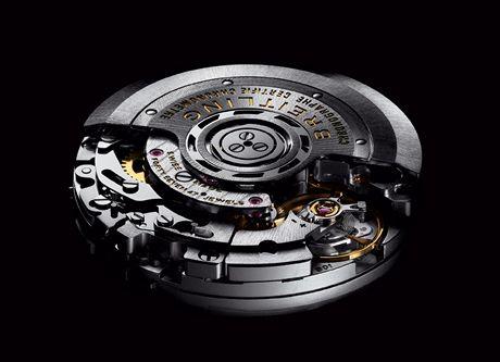 Breitling - letos firma vyrobila svůj první vlastní strojek nazvaný B01