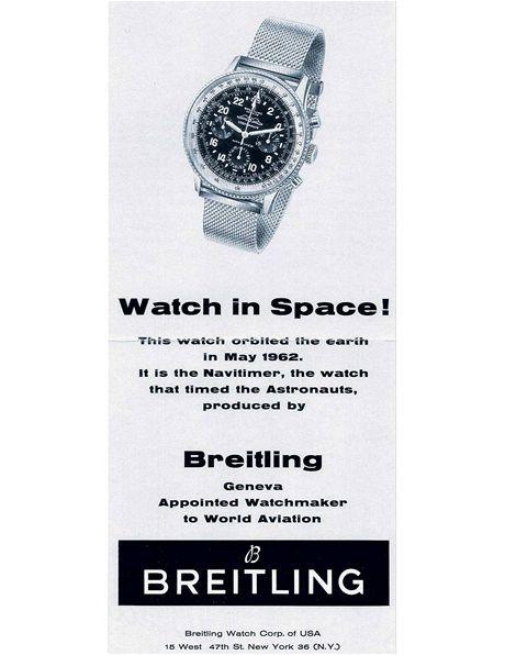 Breitling - první tlačítko