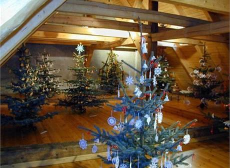 Litvínovská výstava Vánoce na půdě přináší návštěvníkům inspiraci již 9. rok.
