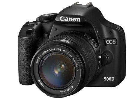 20 nej Canon EOS 500D