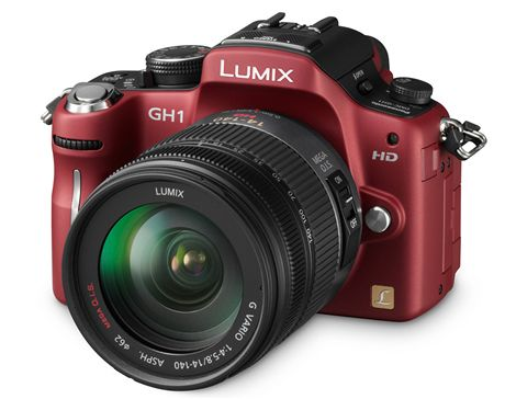 20 nej Panasonic Lumix GH1