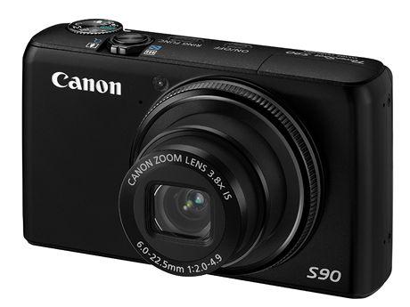 20 nej Canon PowerShot S90