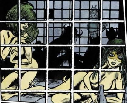 Kája Saudek & Miloš Macourek: Muriel a oranžová smrt (ukázka z komiksu)