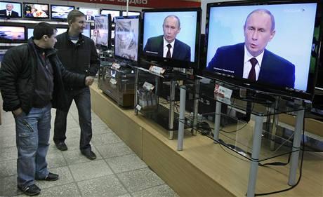 Ruský premiér Vladimir Putin v pořadu Otázky a odpovědi (3. prosince 2009)