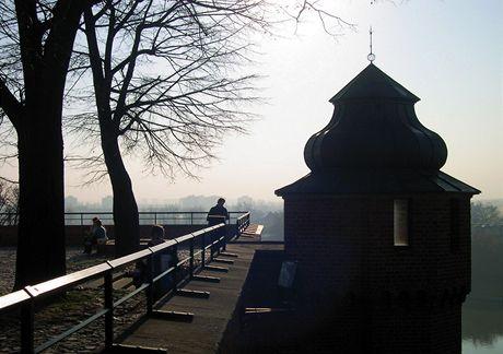 Polsko, Krakov. Nad řekou Vislou