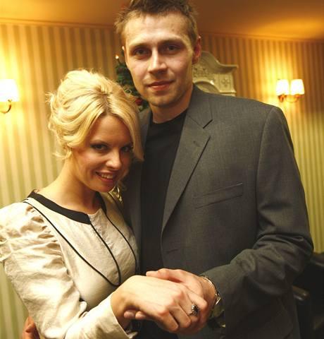Kateřina Kristelová s partnerem Martinem Tůmou