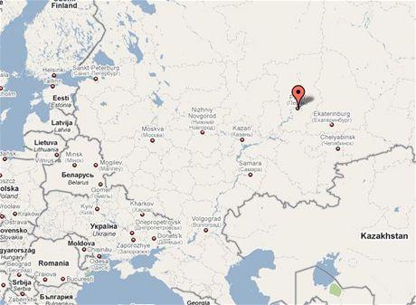 Perm leží asi 1200 kilometrů od Moskvy.