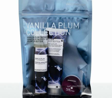 Vánoční balíček z řady Vanilla plum