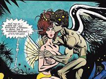 Kája Saudek & Miloš Macourek: Muriel a oranžová smrt (obálka komiksu)