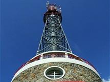 Rozhledna Kuníček byla otevřena v roce 2003