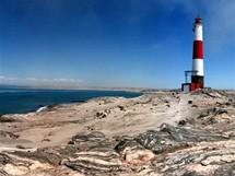 Trabantem Afrikou. Diaz point, výběžek nádherně pusté pevniny s jedním z nejfotogeničtějších majáků světa