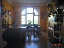 Retro kuchyně v secesním domě