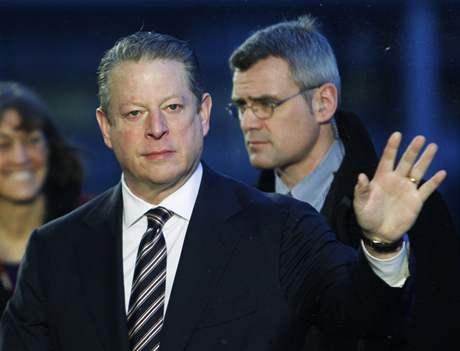 Albert Gore na závěrečném jednání v Kodani (18.12.2009)
