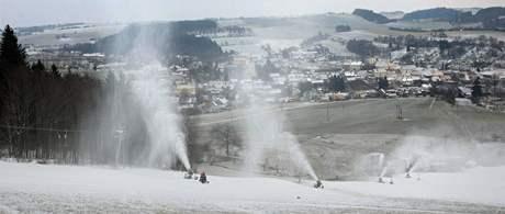 Na olešnickém svahu na Blanensku začíná od pátku lyžařská sezóna