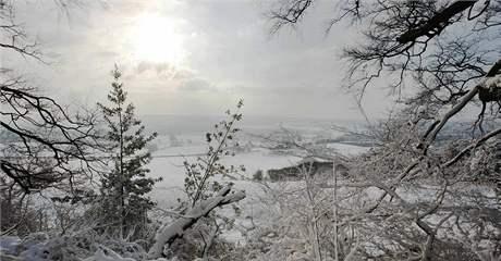 Zima ve Velké Británii, konkrétně ve Westerhamu. (18 prosince 2009)