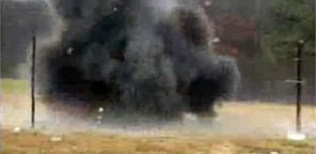Bombě odolný odpadkový koš BlastGard MTR 91.