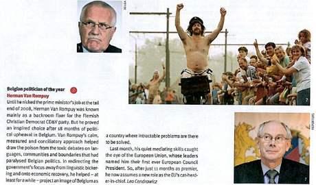 Václav Klaus v časopisu The Bulletin