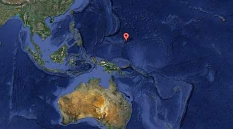 Mikronésie leží v Tichém oceánu poblíž Filipín a Indonésie