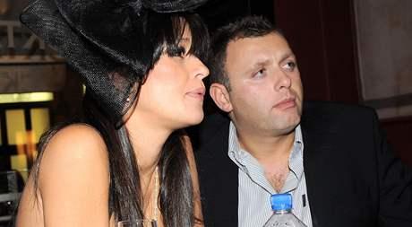 Petra Faltýnová a její manžel Simon Štekl