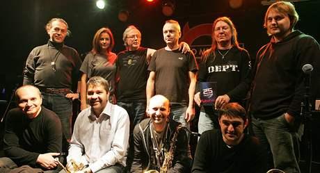 Art rocková legenda Futurum pokřtila v klubu Metro Music Bar DVD ke svému 25. výročí.