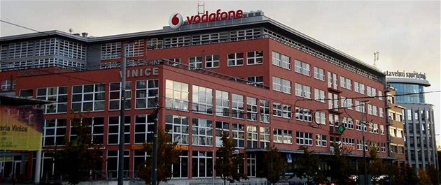 Budova Vodafone.