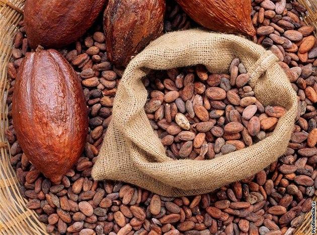 Kakaové boby. Ilustrační foto.