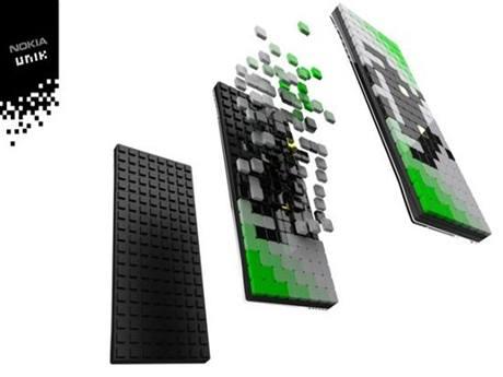 Koncept mobilního telefonu Nokia UNIK
