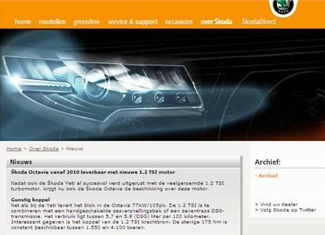 Škoda Octavia 1,2 TSI přijede příští rok
