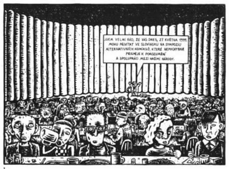 Max Andersson: Bosenský plackopes (ukázka z komiksu)