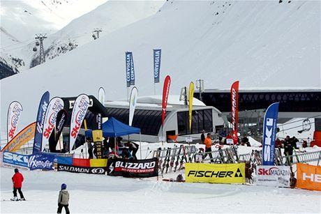 Test lyží ve Sv.Mořici v roce 2009